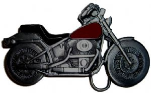 Chopper Bike Belt Buckle with display stand (MB3)